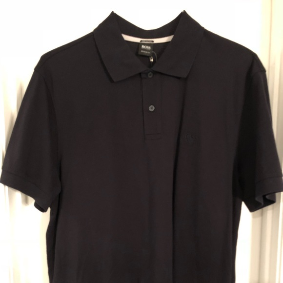 cc735f2a0 Hugo Boss Shirts | Boss Black Pallas Pique Shortsleeve Polo Shirt ...